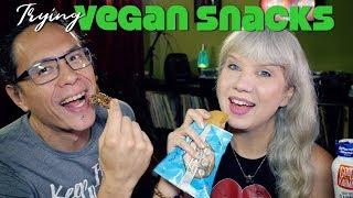Trying Vegan Snacks: 12 Item Taste Test Review