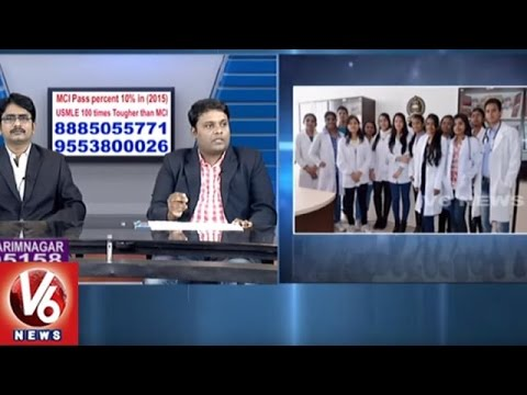 Career Point | Study MBBS In Europe | Sunstones Educations | V6 News
