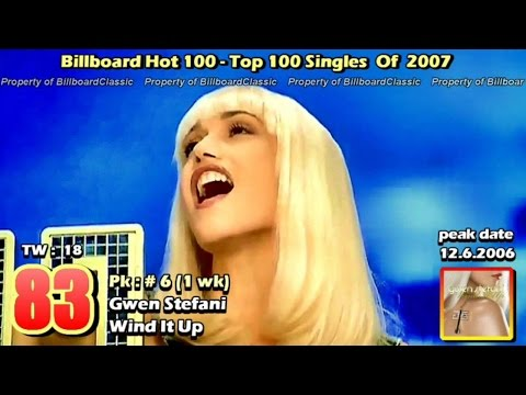 "2007 Billboard Hot 100 ""Year-End"" Top 100 Singles [ 1080p ]"