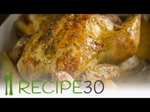 Fastest roast chicken recipe in 5 minutes! – Recipe30
