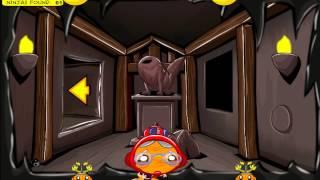 Monkey GO Happy Ninjas 3 (Счастливая обезьянка: Ниндзя 3) - прохождение игры
