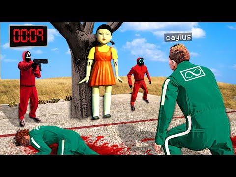 GTA 5 But It's SQUID GAME.. (Mods)