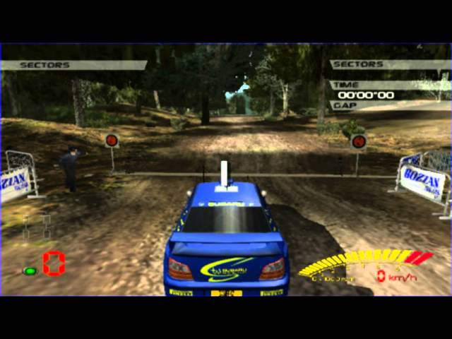 V-Rally 3 (PS2 Gameplay)