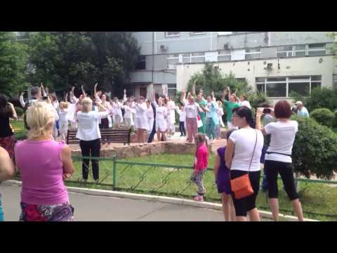 Флешмоб на День медика в РДКБ