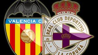 Video Gol Pertandingan Valencia CF vs Deportivo La Coruna