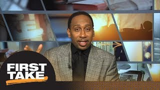 Stephen A. Smith publicly apologizes to Celtics on national TV | First Take | ESPN