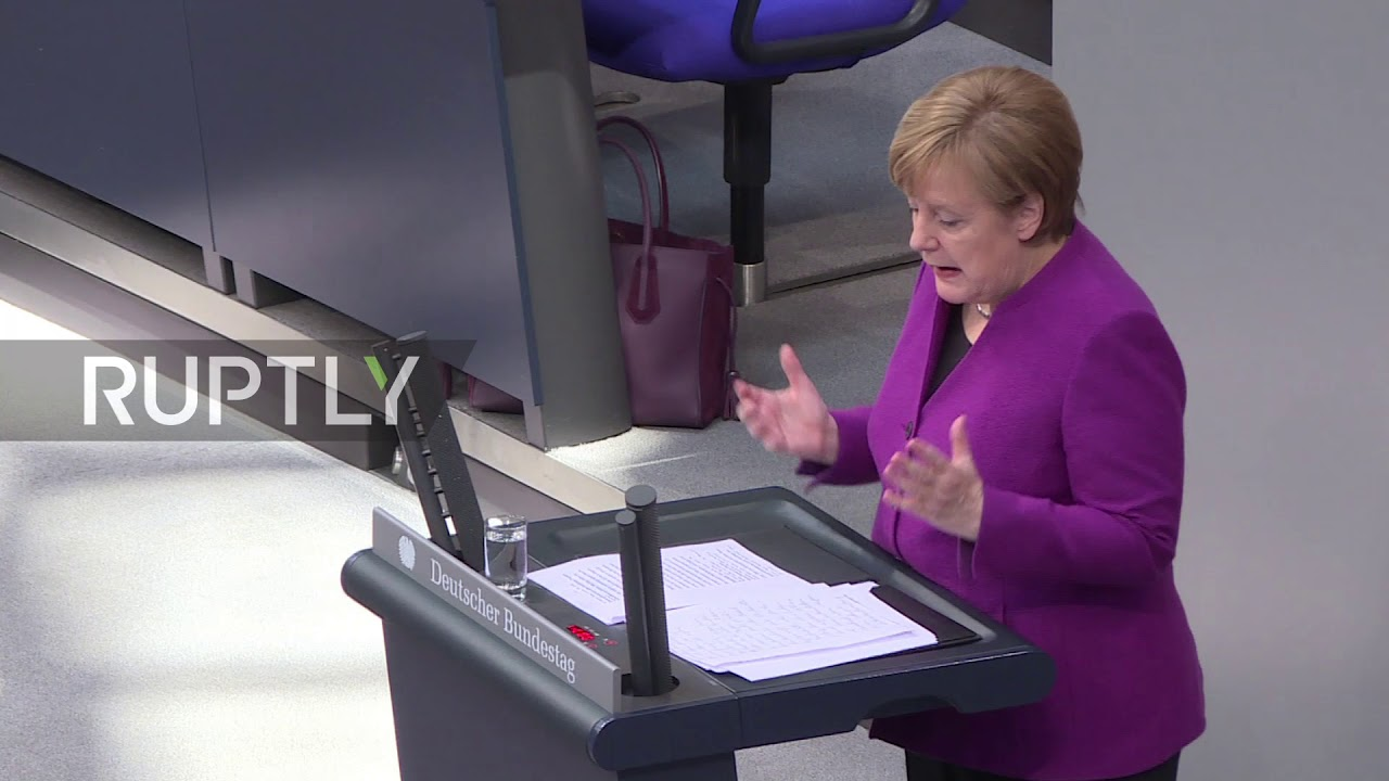 Germany: Merkel calls for an end to Syrian 'massacre'