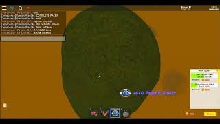 ROBLOX 9SUPER POWER TRANING SIMULATOR)I HAVE A BILLION BT