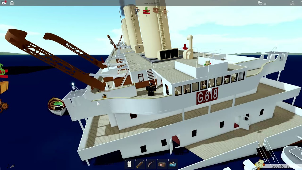 Roblox Britannic Vvg Release Me Sinking Of The H M H S Lucinda Roblox Part 1 By Zalistic Guy