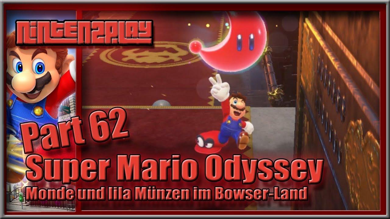 Super Mario Odyssey Gameplay Part 62 Monde Und Lila Münzen Im