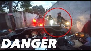 Berbahaya.. #motovlog Indonesia