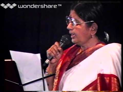 P. Suseela Live Performance Tamil