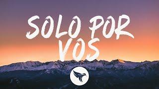 Trueno - SOLO POR VOS (Letra/Lyrics)