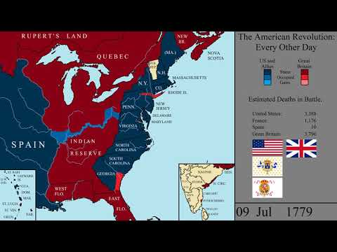 The American Revolutionary War: Every Other Day