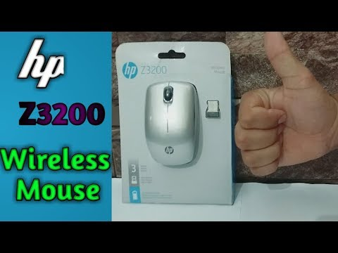 HP Z3200 Wireless Mouse||Unboxing-Review||The Best Wireless Mouse For LapTop\Computer||Medium Price.