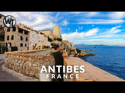 Antibes Old Town - 🇫🇷 France - 4K Virtual Tour