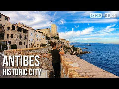 Antibes Old Town - 🇫🇷 France - 4K Virtual Tour