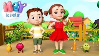 Das Gemüse - Kinderlieder zum Mitsingen | KinderliederTV