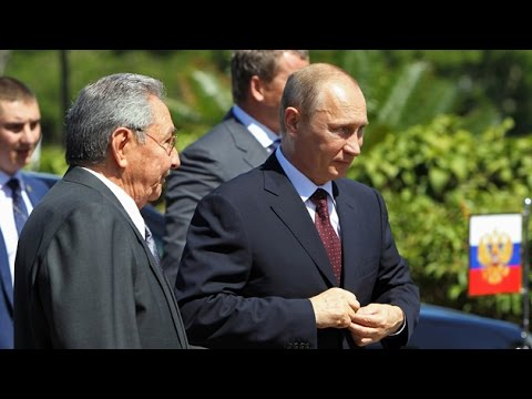 """Putin promete ayudar a Cuba a """"superar el bloqueo ilegal impuesto por EE.UU."""""""
