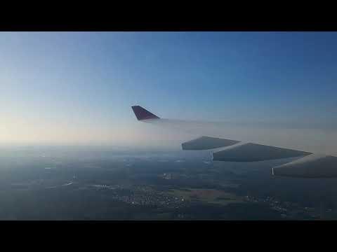 aeroflot Airbus A330 Take-off from Moscow Sheremetyevo SVO
