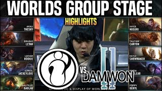 IG vs DWG Highlights Worlds 2019 Group Stage Day 3 - Invictus Gaming vs DAMWON Highlights Worlds