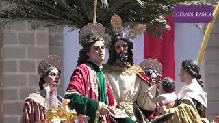Jesús de la Paz (Borriquita) saliendo de San José y por San Agustín (Semana Santa Cádiz 2019)