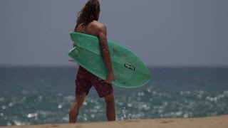 Asher Pacey, A Twin Fin And The Ideal Length For Silk Surfing