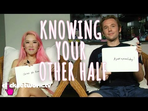 Knowing Your Other Half - Xiaxue's Guide To Life: EP115