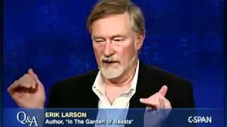 Q&A: Author Erik Larson