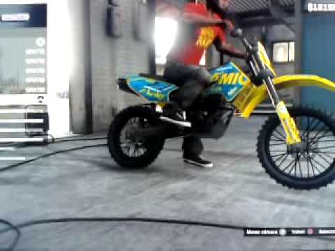 tuning moto cross gta 5