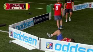 Kjendis-VM, bronsefinale: Portugal - Belgia