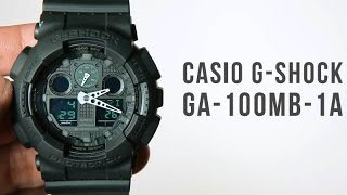Casio G-shock GA-100MB-1A : Unboxing