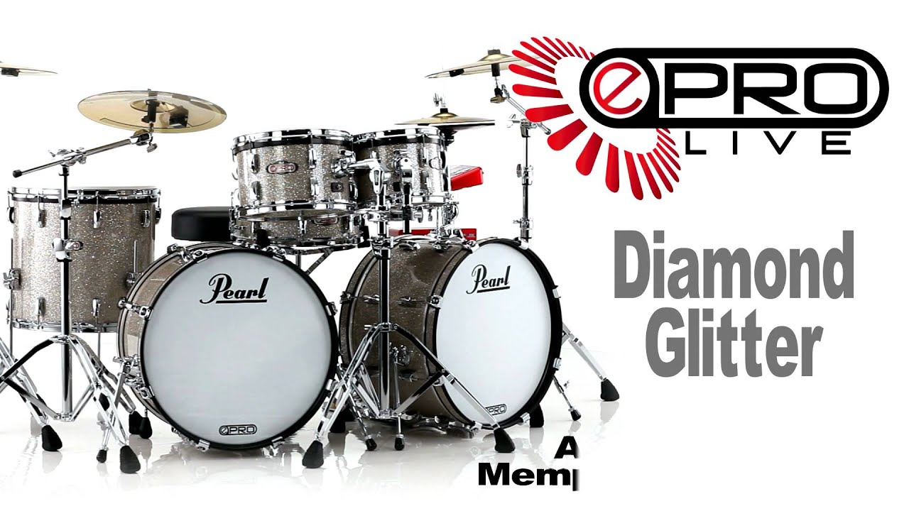 Pearl E Pro Live Double Bass Electronic Drum Set
