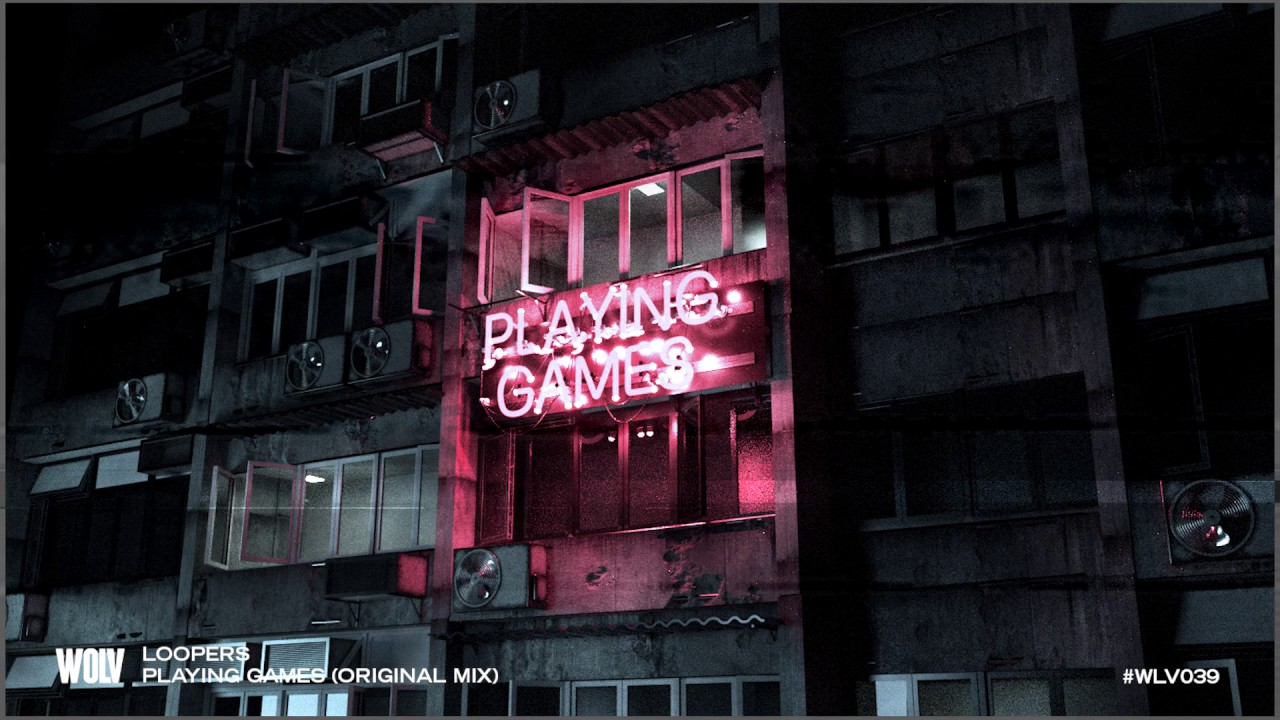 LOOPERS - PLAYING GAMES (OUT NOW)
