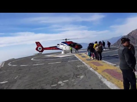 Sanjichat to Katra Helicopter Service: Coolpad Note 3 still Video Clip