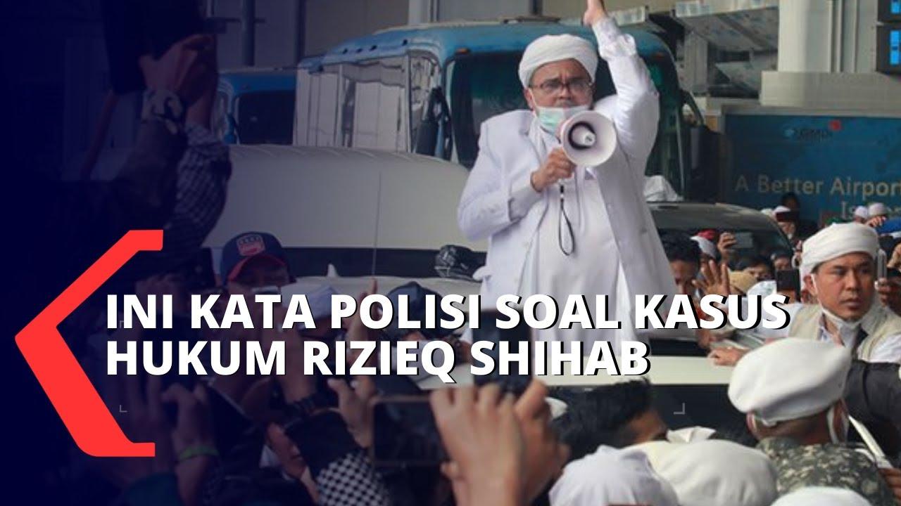 Polisi Sebut Kasus Hukum Rizieq Shihab di Jawa Barat Sudah SP3, Ini Penjelasannya