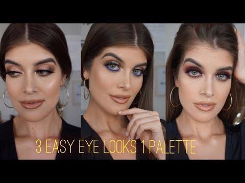 3 Easy Eye Makeup Looks to SLAY Using Jaclyn Hill x Morphe Palette   CATANO GLAM ENGLISH thumbnail