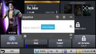 Repeat youtube video Injustice wbid for android only 100% real pt 1