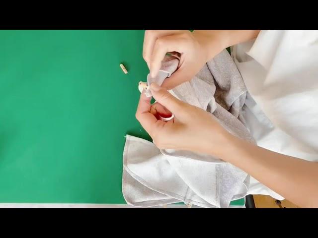 着物リメイク日傘の制作動画を作ってみました