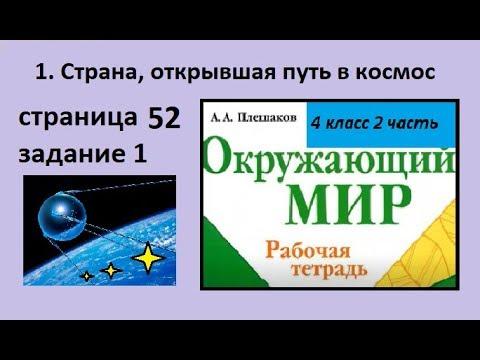 Что из этого правда/Страна открывшая путь в космос №1 (Окружающий мир 4 класс Крючкова)
