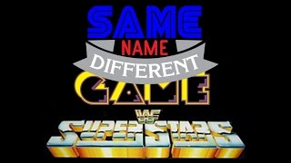 Same Name, Different Game Episode 25: WWF Superstars Guest Starring the LJN Defender