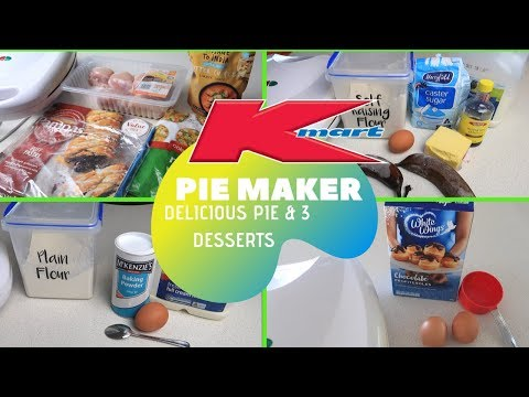 KMART PIE MAKER HACKS   EASY & BUDGET FRIENDLY FAMILY MEAL IDEAS   COOK WITH ME