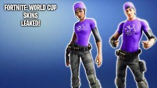 FORTNITE: WORLD CUP SKINS LEAKED!