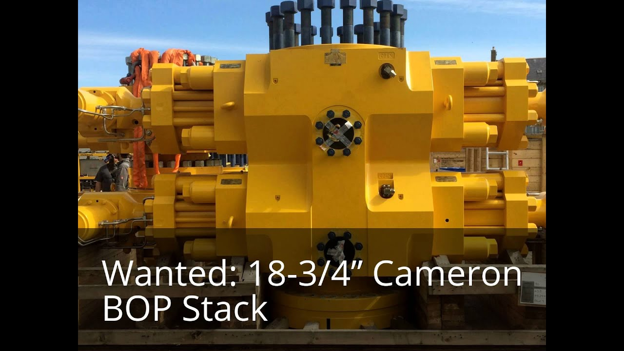 """Selling an 18-3/4"""" Cameron BOP Stack? I want to rent your 18-3/4"""" Cameron  BOP stack"""