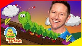 The Caterpillar Song | Kids Songs | The Mik Maks
