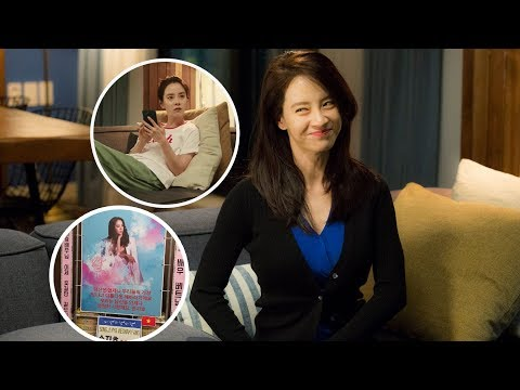 Song Ji Hyo Says Thank You to Fans supporting her new Drama Wind Wind Wind