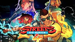 Streets of Rage 4 - Official Announcement Trailer