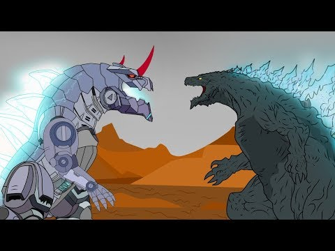 Evolution Of Godzilla Vs Godzilla Earth: Size Comparison | Mad Scientist Godzilla