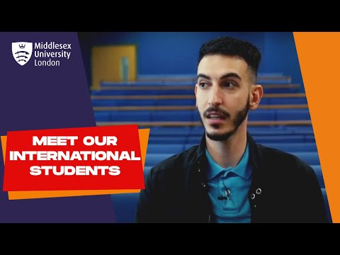 Yousef from Qatar - International Student - BA Business Management