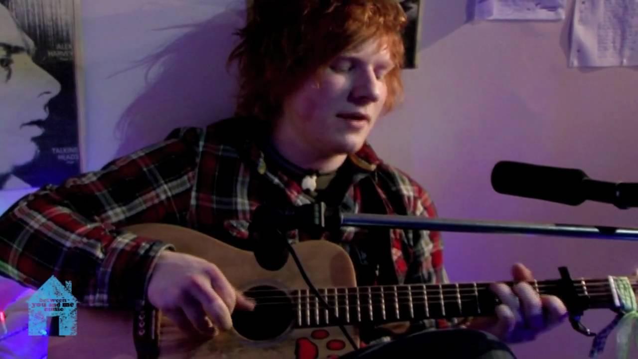 Ed Sheeran Sunburn Between You And Me Music Youtube